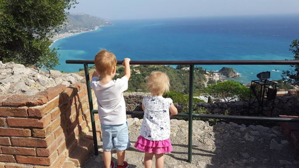 Our first day trip — Taormina!