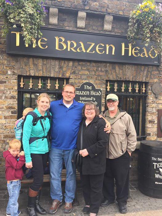IRELAND, Day One: Restaurants, Rambling and Relaxing