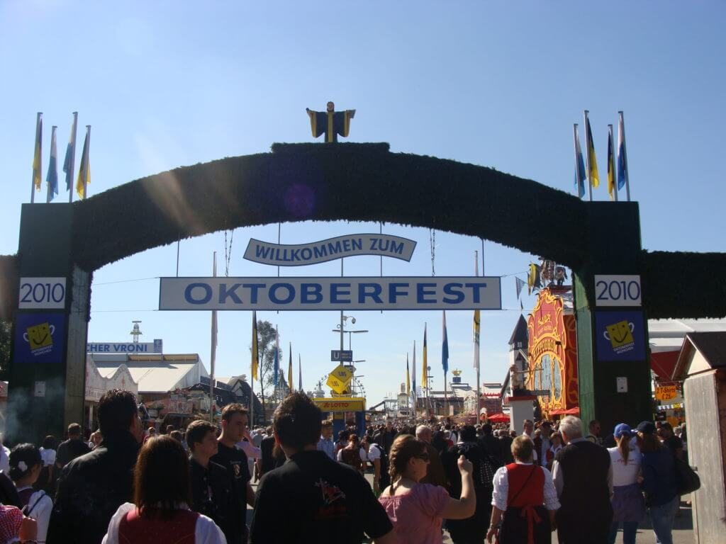 So you're going to Oktoberfest: table reservations