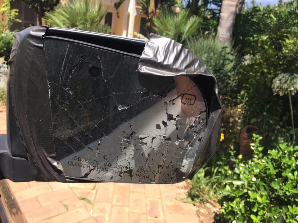 Cracked mirrors; or, On having a minivan in Sicily