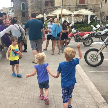 Traveling in Europe with kids and without losing your mind
