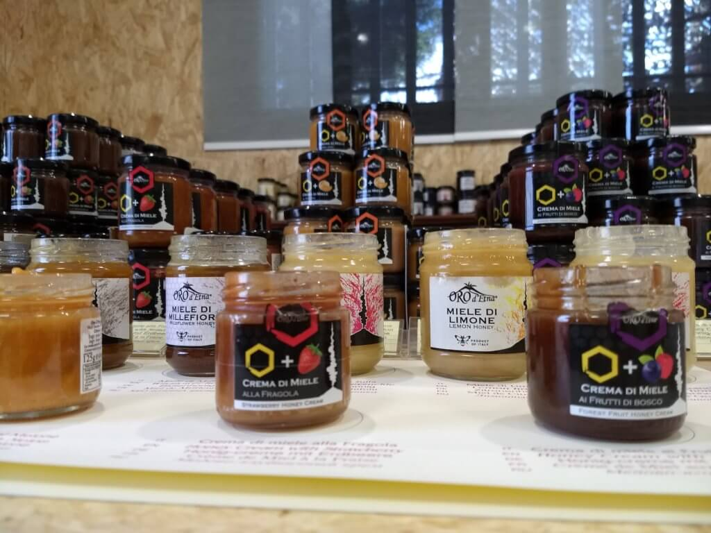 What we've been up to lately: honey in Zafferana, beer in Acireale